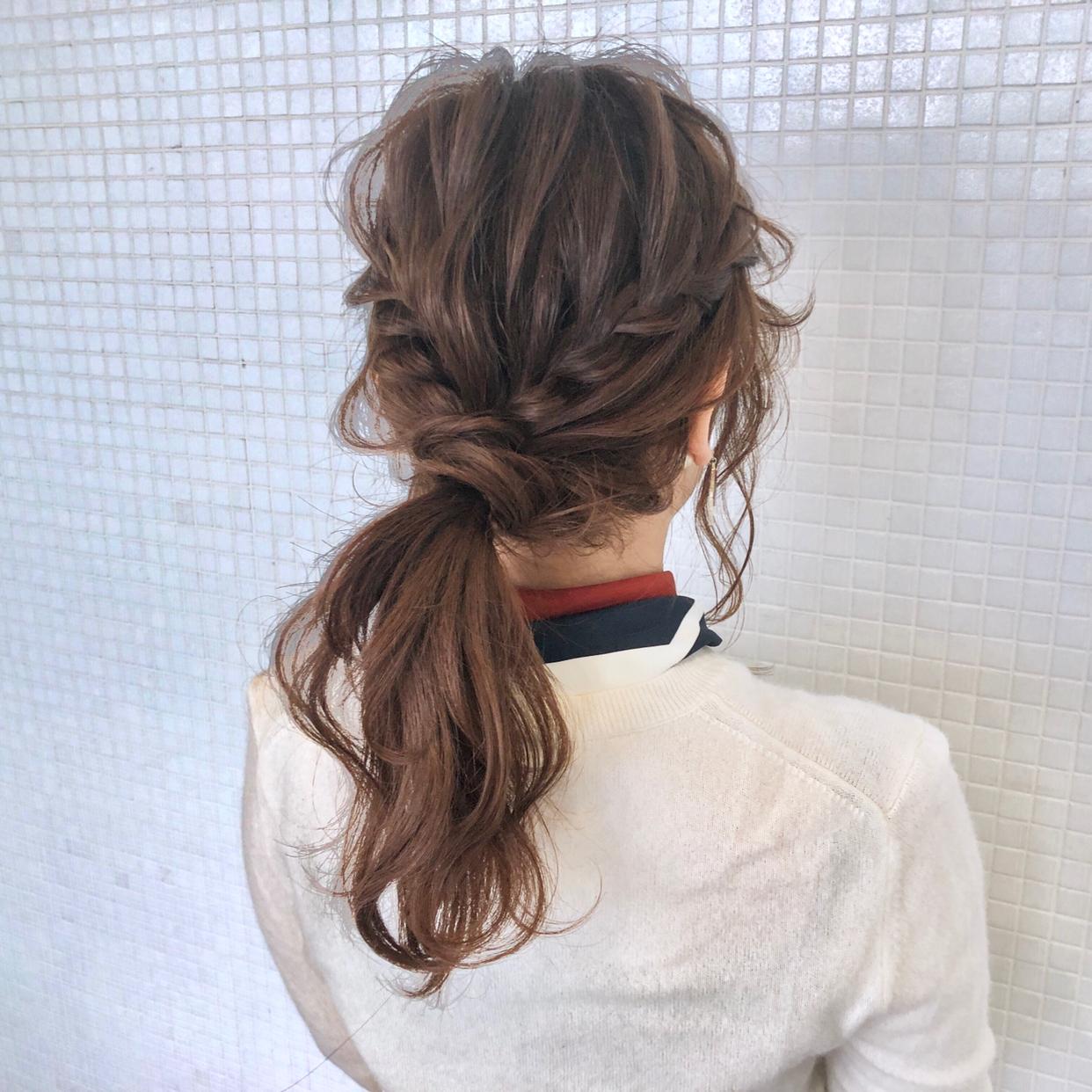 kawamura_takashi_cam ヘアゴム1本で作るウォータフォールポニー ヘアアレンジ&ヘアセット 河村タカシ #hairarrangecam #hairarrange #hairset #hair #ヘアアレンジ #へアセット #ヘア #関西 #大阪 #心斎橋 #hairdresser #美容師 #サロンモデル募集 #サロモ #おくれ毛 #簡単ヘアアレンジ #ウォーターフォール #ポニーテール