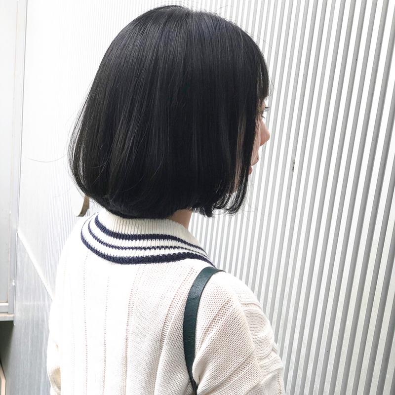 で 後ろ髪 切る 自分 を 髪 前髪の切り方。自分でできる簡単な切り方&失敗しないコツ