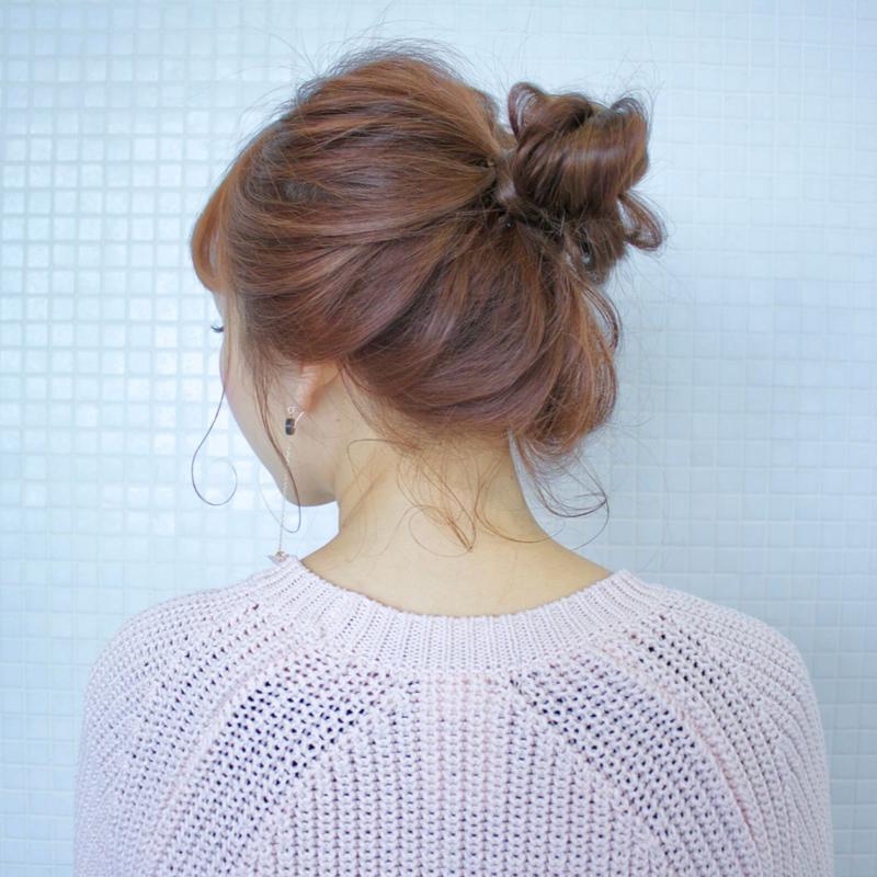 【レングス別アレンジ】簡単かわいいお団子ヘアをマスターしよう