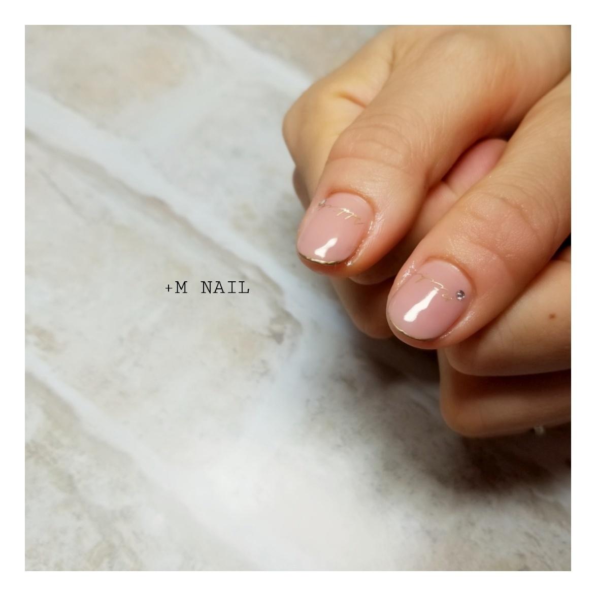 #nails #ジェル #ジェルネイル #ネイル #ネイルサロン #ネイルデザイン #ハンド #上品ネイル #大人ネイル #大人可愛い#親指ネイル#英字ネイル#ピンクベージュ