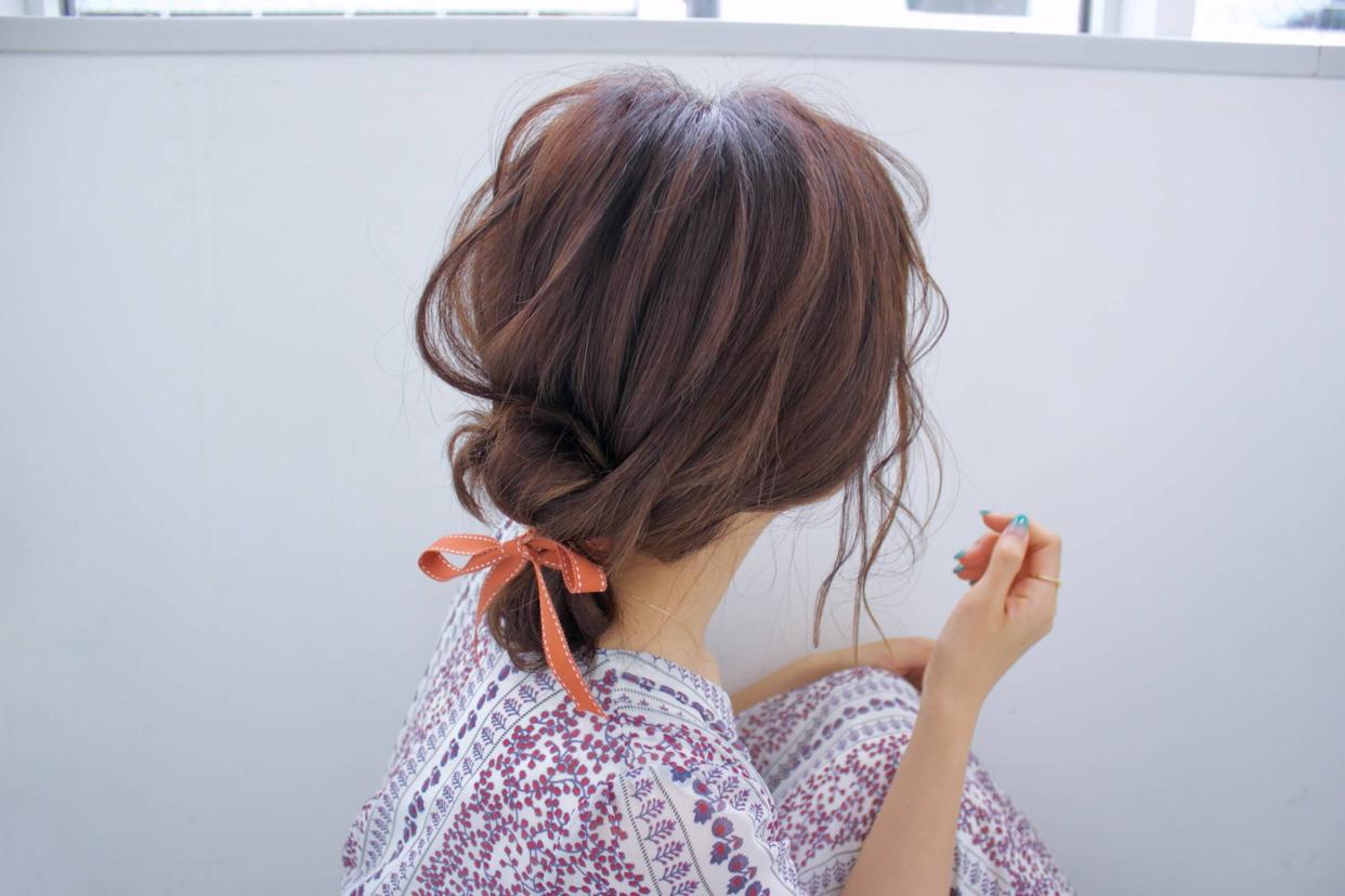 kawamura_takashi_cam  ゴムとリボンでプレイフルバン ヘアアレンジ&ヘアセット  河村タカシ  #hairarrangecam  #hairarrange  #hairset  #hair  #ヘアアレンジ  #へアセット  #ヘア  #関西  #大阪  #心斎橋  #hairdresser  #美容師  #サロンモデル募集  #サロモ  #おくれ毛  #簡単ヘアアレンジ  #お団子ヘア
