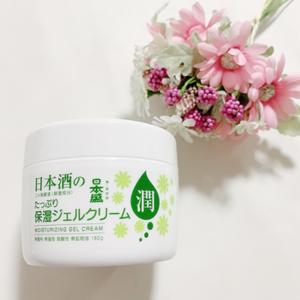日本盛 日本酒の保湿ジェルクリーム 180g(その他メイクツール)を使ったクチコミ(1枚目)