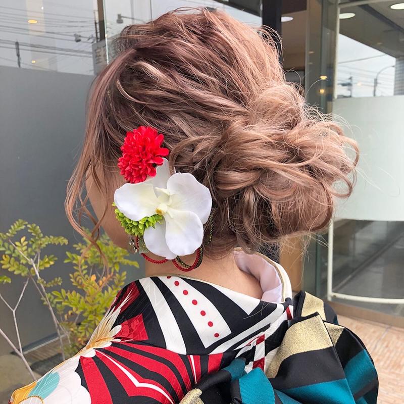 一生に1度の成人式!かわいいと言わせたいなら髪型にもこだわって♡