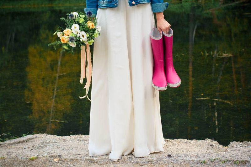 雨の日だって素敵な足元を♡人気のレディース長靴を紹介します!!