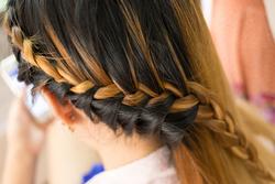 編み込みで可愛さMax♡大人可愛いハーフアップのヘアカタログ