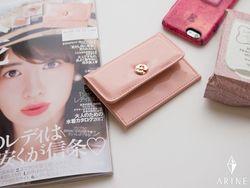 美人百花7月号付録♡カメリア付きのマルチミニ財布が可愛すぎる!