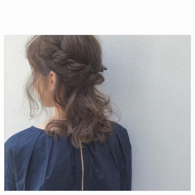 """""""まとめ髪""""特集♡結婚式向けハーフアップから上品なアップヘアまで"""