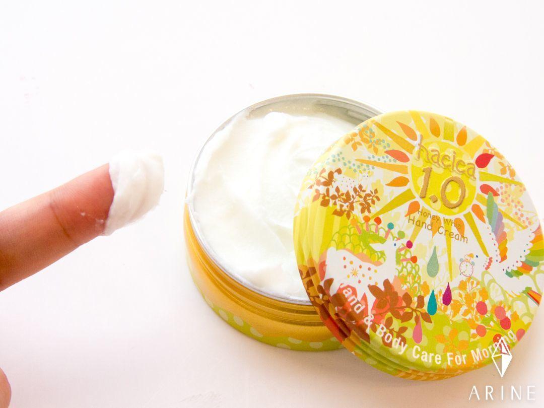 【9/1発売】保湿力高め!hacicaの生はちみつハンドクリームの3枚目の画像