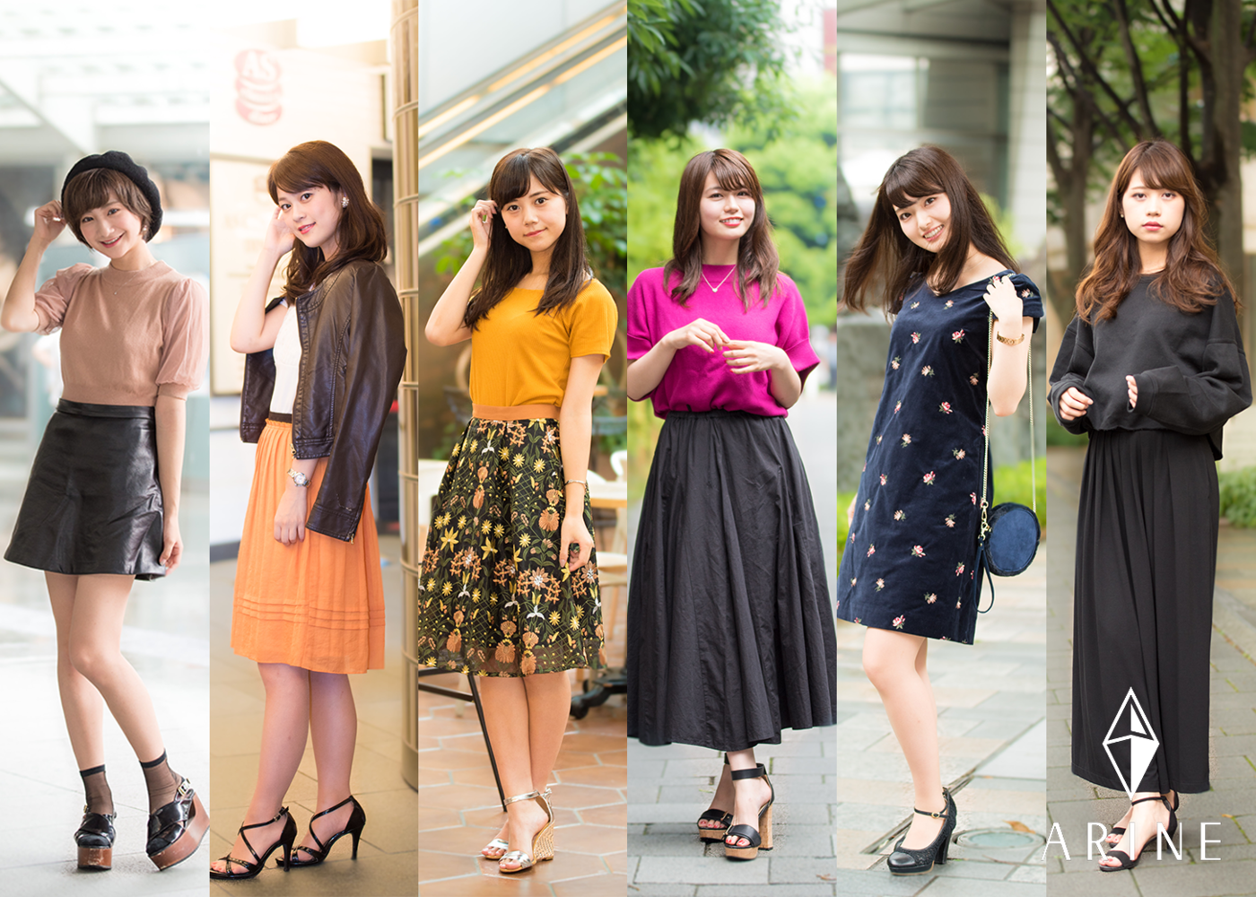2017年青学ミスファイナリストの秋ファッションに大注目♡