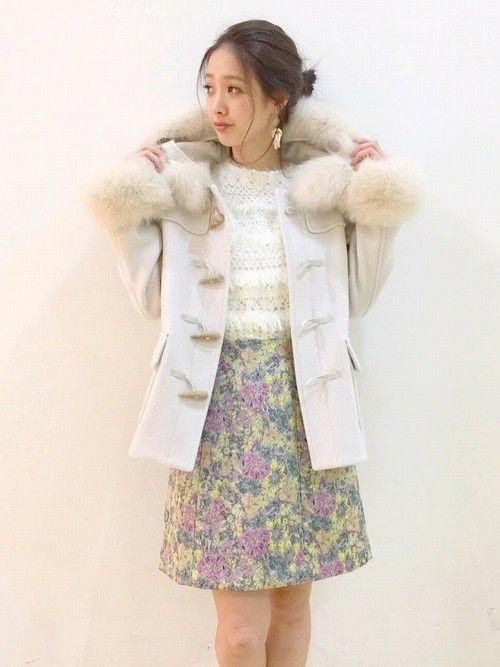 【2019】人気ショートダッフルコート&レディースコーデ特集♡
