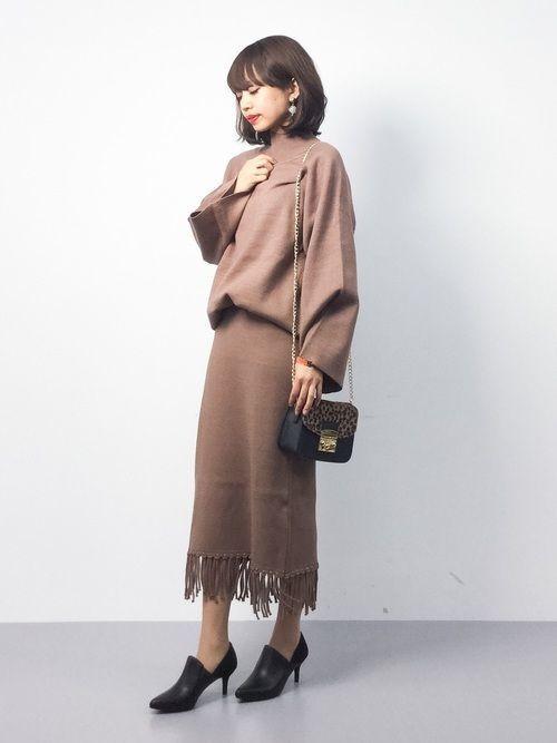 秋冬ファッションは【ニットセットアップ】で垢抜けコーデを♡