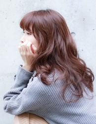 透明感を演出♡イメチェンなら髪色はマロンブラウンで決まり!