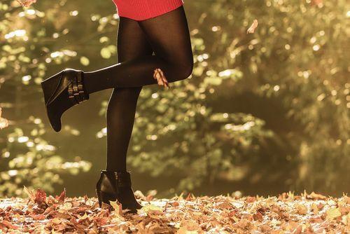 【秋冬おしゃれ】万能♡黒タイツですっきりガーリーコーデ♡8連発