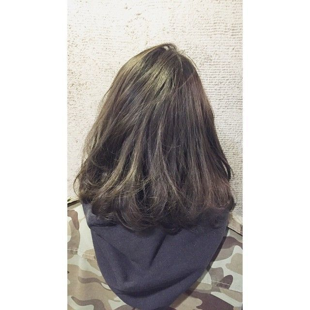 【暗髪・アッシュ】フレンチセピアアッシュで透明感のある髪色に♡の1枚目の画像