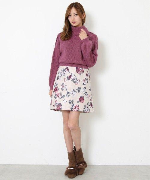 ≪今シーズントレンドNO.1≫台形スカートの着こなし技♡の7枚目の画像