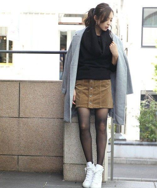 ≪今シーズントレンドNO.1≫台形スカートの着こなし技♡の5枚目の画像