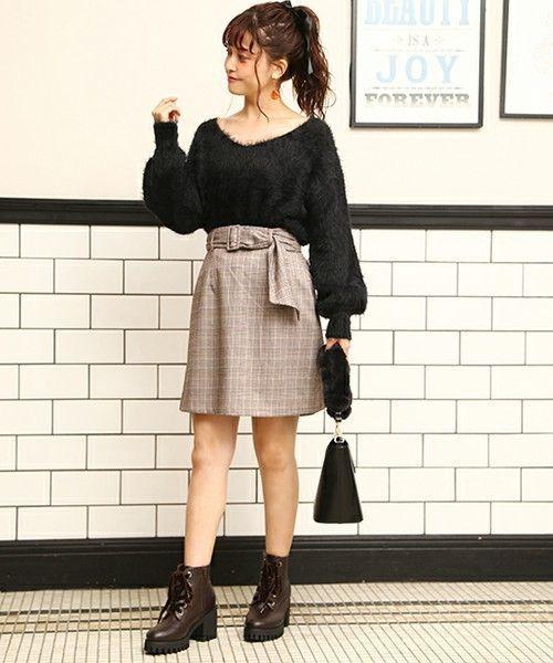 ≪今シーズントレンドNO.1≫台形スカートの着こなし技♡の2枚目の画像