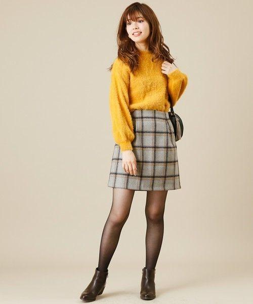 ≪今シーズントレンドNO.1≫台形スカートの着こなし技♡の3枚目の画像