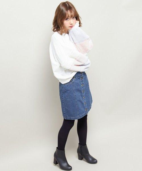 ≪今シーズントレンドNO.1≫台形スカートの着こなし技♡の6枚目の画像
