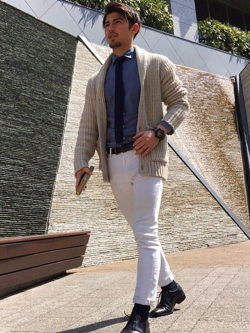 男性は「スマートカジュアル」が好印象!基本の着こなし方&コーデ集の21枚目の画像