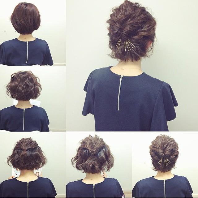 人生一度の【成人式】ボブの子必見♡かわいい髪型で視線を独り占め♡の4枚目の画像