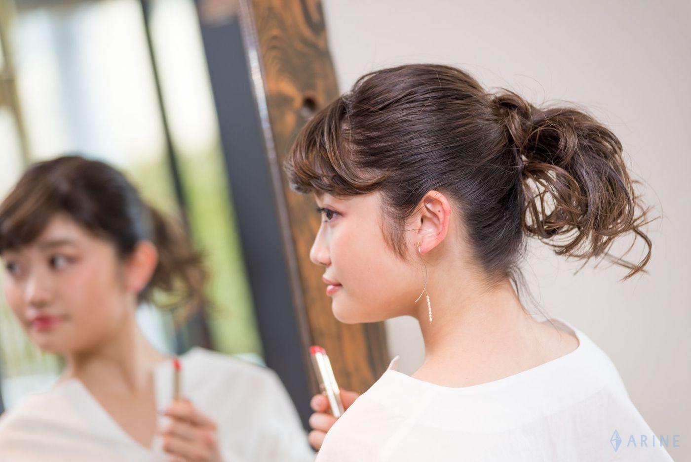 人気美容室が提案!雰囲気が一瞬で変わる♡イメチェン春ヘアアレンジの7枚目の画像