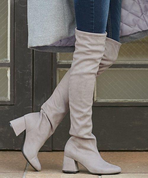 きれいな脚見せを叶える【サイハイブーツ】流行アイテム&コーデ紹介の2枚目の画像