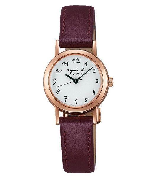 さらっとオシャレにつけたい♡【アニエスベーのソーラー時計】の2枚目の画像