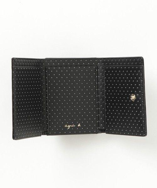 2529f2251f40 agnes b.のミニ財布です♡価格は¥24,840(税込)です。 今人気の三つ折りの財布です!とても小さいのに、カードもお札も小銭も十分に入ります。