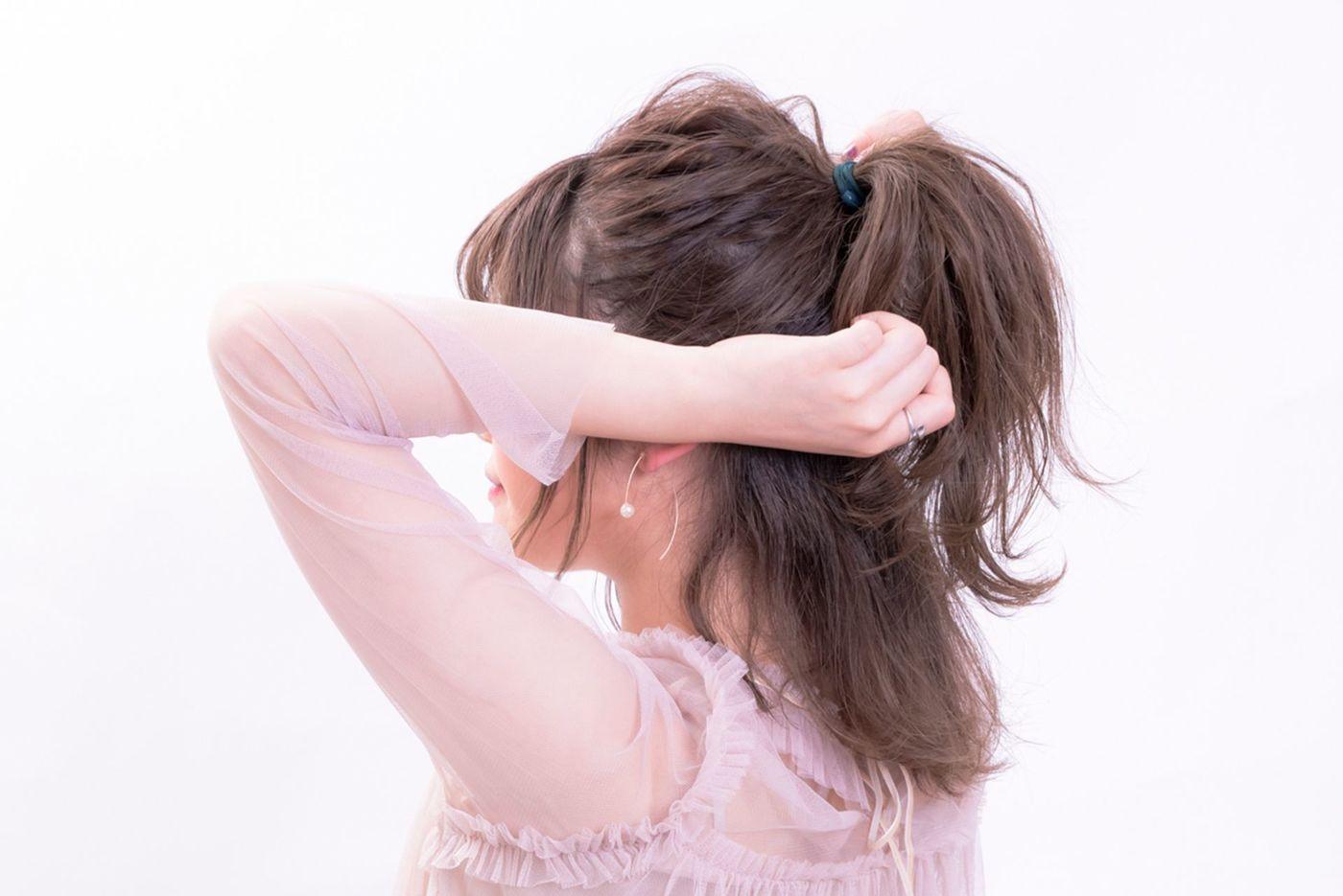 外ハネヘアでイマドキこなれヘアを目指せ♡作り方&アレンジ特集の10枚目の画像