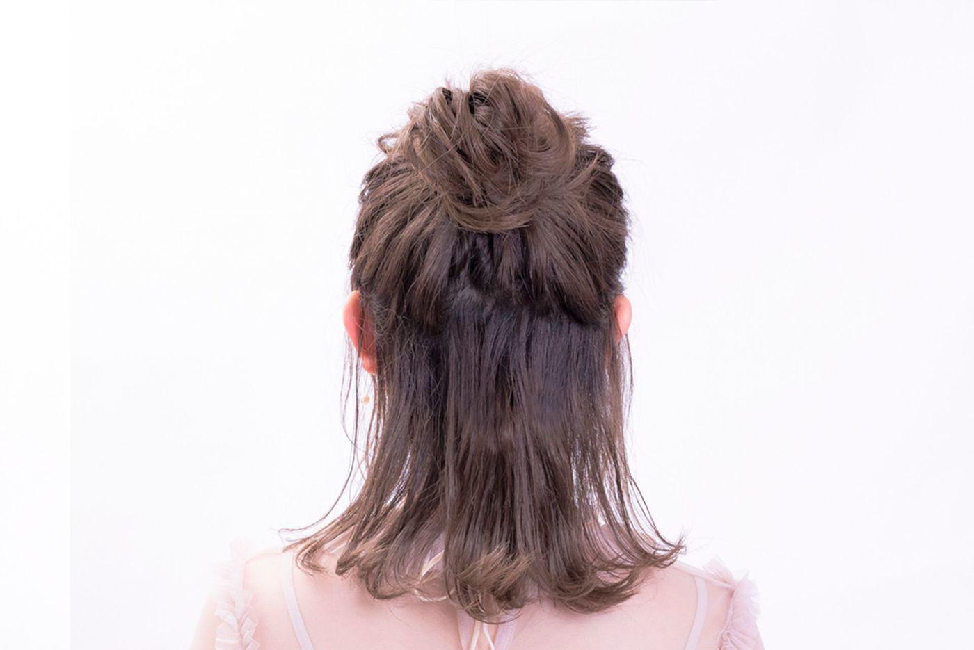 外ハネヘアでイマドキこなれヘアを目指せ♡作り方&アレンジ特集の11枚目の画像