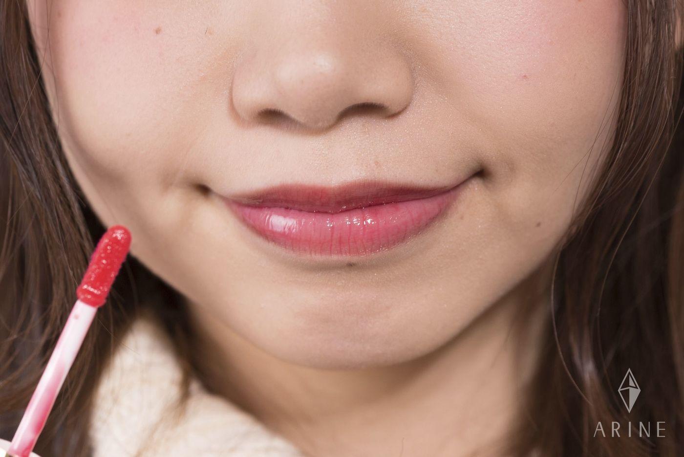 全色スウォッチ!キャンメイク《リップティントシロップ》でうる唇にの2枚目の画像
