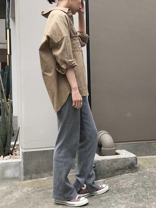 ミリタリーシャツを着こなしたい!おすすめコーデ10選の7枚目の画像