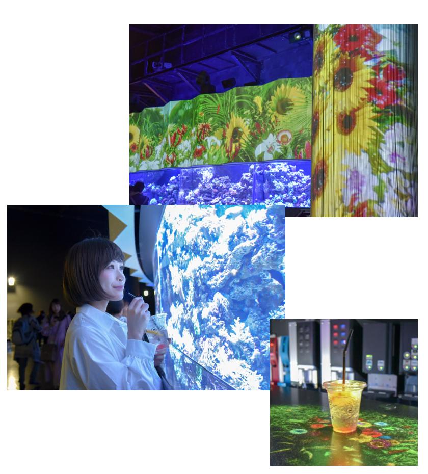 都会で楽しむ大人の水族館!フラワーアクアリウムが期間限定で開催中の4枚目の画像