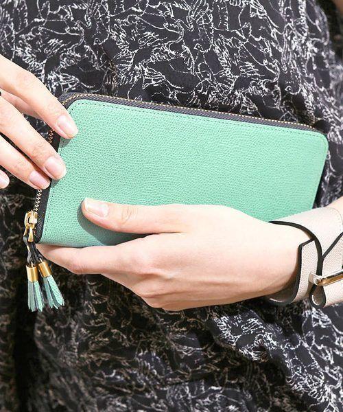 財布は革製がおすすめ♪人気レディース革製長財布♡