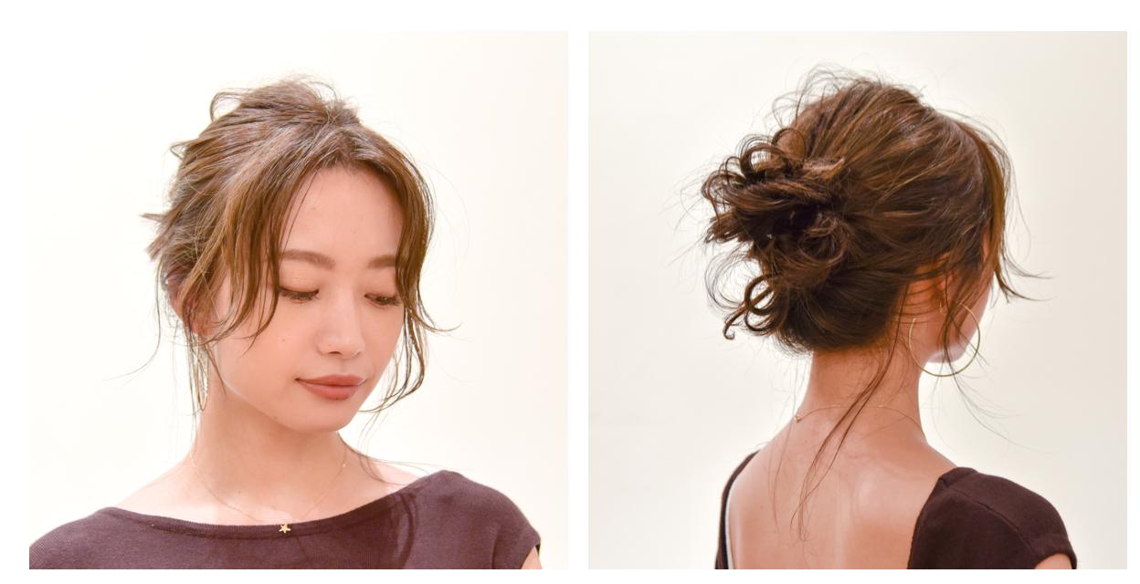 """人気美容師が解説!誰でも簡単""""夏の大人女子ヘアスタイル""""の作り方の9枚目の画像"""