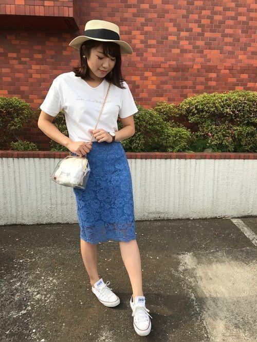 今が旬!GUの《タイトスカート》で着回し上手のモテコーデ♡の6枚目の画像