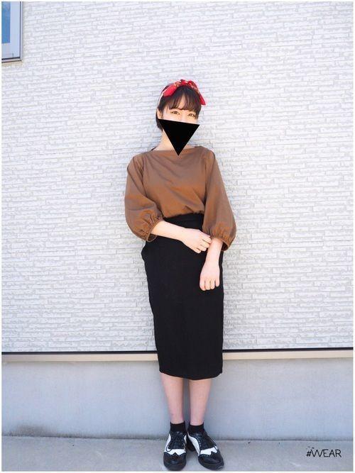 今が旬!GUの《タイトスカート》で着回し上手のモテコーデ♡の7枚目の画像