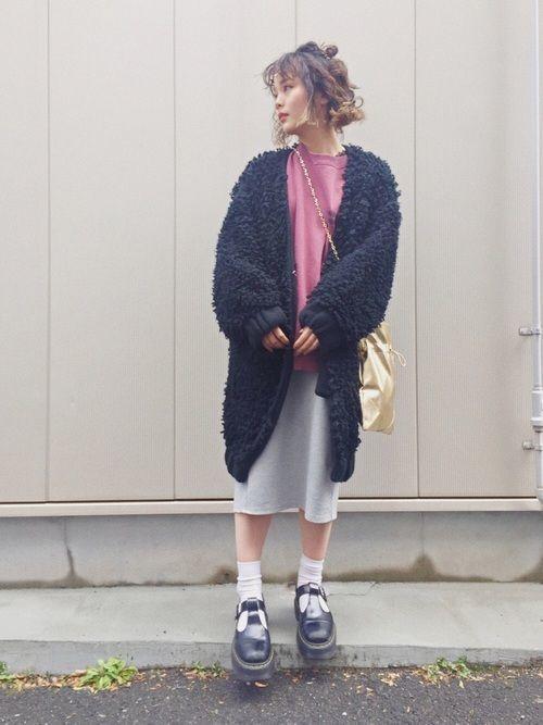 今が旬!GUの《タイトスカート》で着回し上手のモテコーデ♡の14枚目の画像