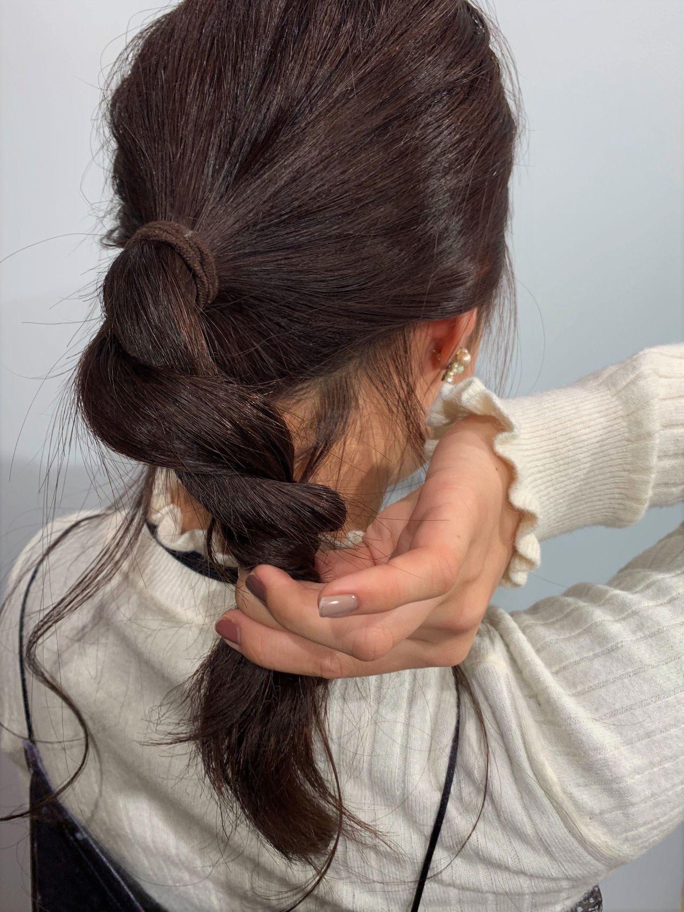 【レングス別アレンジ】簡単かわいいお団子ヘアをマスターしようの7枚目の画像