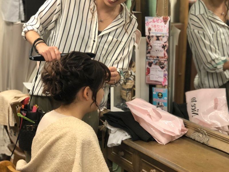 ヘアセットサロン チャイ[Hair set salon  CHAI]のこだわりポイントの画像