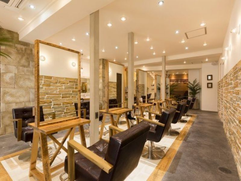 AUBE hair larme天文館通店
