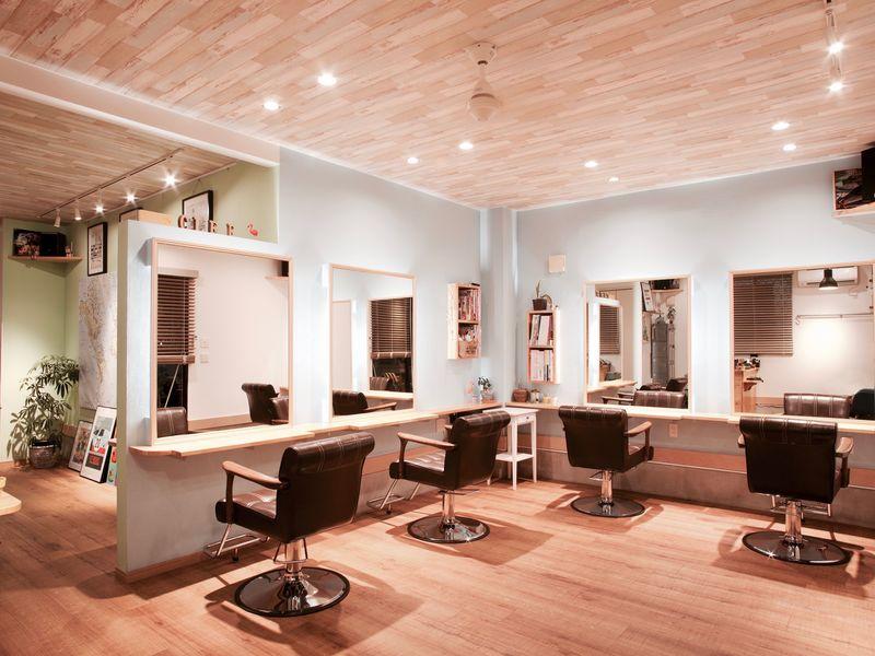 ヘアサロン クレ<Hair salon clef>